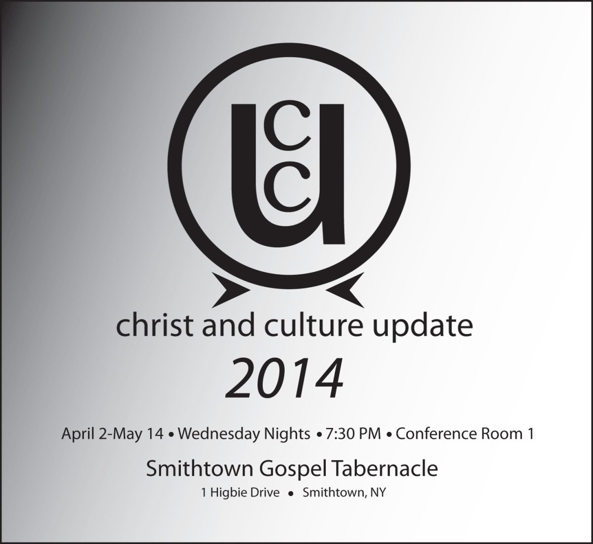 The Christ and Culture Update Class: 2014